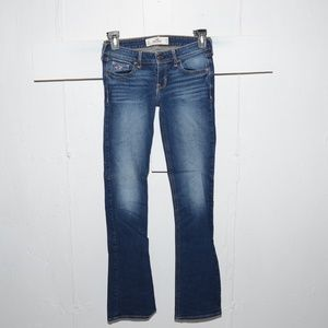 Hollister slim boot womens jeans size 1 R 3857